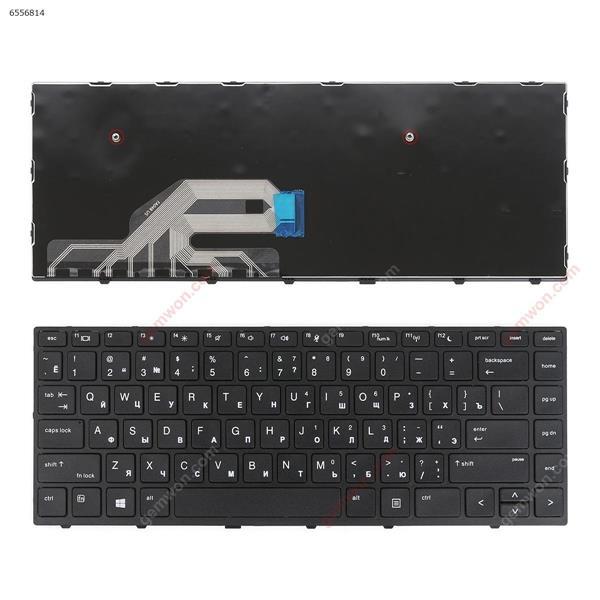 HP Probook 430 G5 440 G5 445 G5 BLACK FRAME BLACK WIN8 OEM RU FA04B Laptop Keyboard (OEM-B)