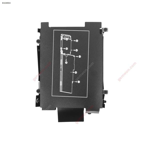 HP  EliteBook 840 G3 ONLY Hard Drive HDD Caddy Frame Bracket w/Screws Cover N/A