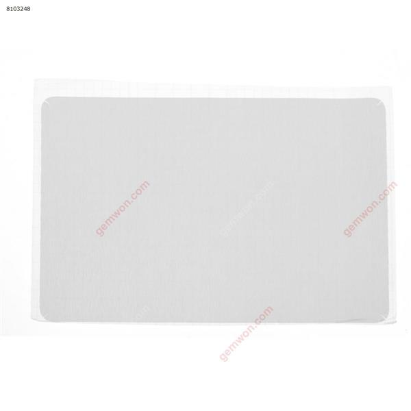 PolyVinyl Chloride(PVC) Skin Stickers Cover guard For HP EliteBook 850 G3 A Cover,Brushed Silver Sticker N/A