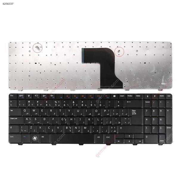 DELL Inspiron N5010 M5010 15 BLACK (Big Enter ) AR N/A Laptop Keyboard (OEM-A)