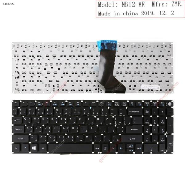 Acer Aspire E5-722 E5-772 V3-574G E5-573T E5-573 E5-573G E5-573T E5-532G BLACK AR AG-6800            NCB1421         002-14H83LHC01 Laptop Keyboard (OEM-B)