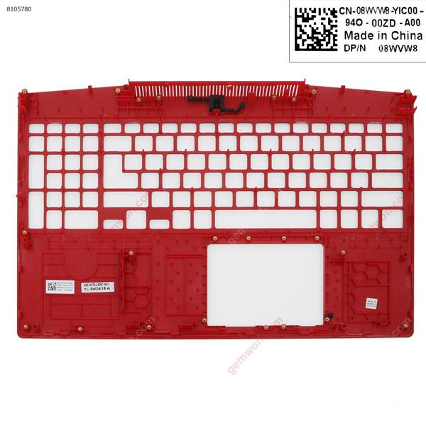 New Dell G3 3590  Palmrest Upper Case(backside is red) Cover N/A