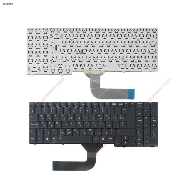 ASUS M70 M50 X71 BLACK RU NSK-U410R  9J.N0B82.10R 04GNED1KRU00-1 0KN0-7E1RU03 MP-03753SU-5287 Laptop Keyboard (OEM-B)