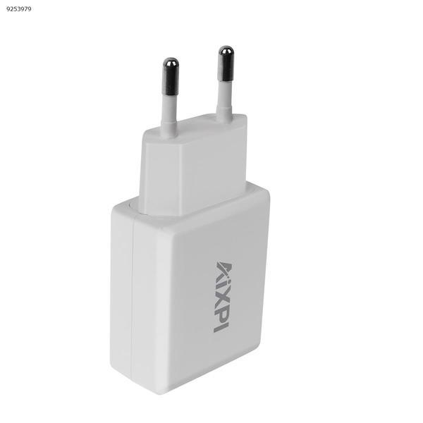 AIXPI Power Adapter  EU Plug (CE FCC)INPUT: 100-240V~50/60Hz  OUTPUT:5V= 2.0A Charger & Data Cable GA02