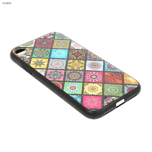 iPhone  XR Epoxy color kaleidoscope mobile phone case, imitation glass silver standard all-inclusive soft shell Case IPHONE  XR EPOXY COLOR KALEIDOSCOPE MOBILE PHONE CASE