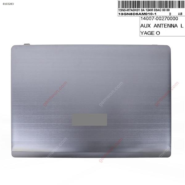 ASUS K55 K55V K55VD A55V K55A U57A LCD Back Cover metal gray Cover N/A