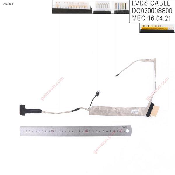 TOSHIBA L500 L500D L505 L505D LCD,OEM LCD/LED Cable DC02000S800