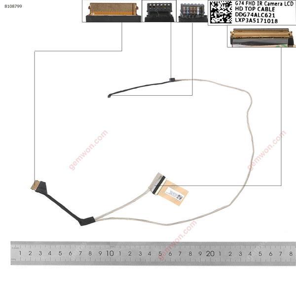 HP 15-CC726 15-CC723TX 15-CC711TX 15-cc708 15-cc With touch,ORG  LCD/LED Cable DDG74ALC621