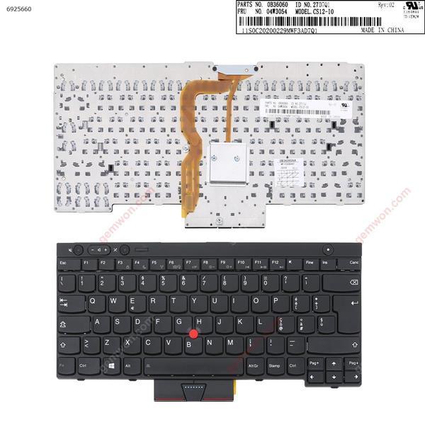 ThinkPad T430 T530 X230 BLACK (OEM For Win8)  IT 0B36060 Laptop Keyboard (OEM-B)