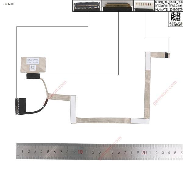 DELL latitude 12-5280 E5280 ,ORG  LCD/LED Cable 01T1HC DC02C00EI00