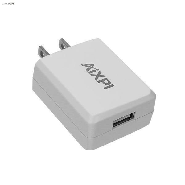 AIXPI Power Adapter  US Plug (CE FCC)INPUT: 100-240V~50/60Hz OUTPUT:5V= 2.0A  Charger & Data Cable GA01
