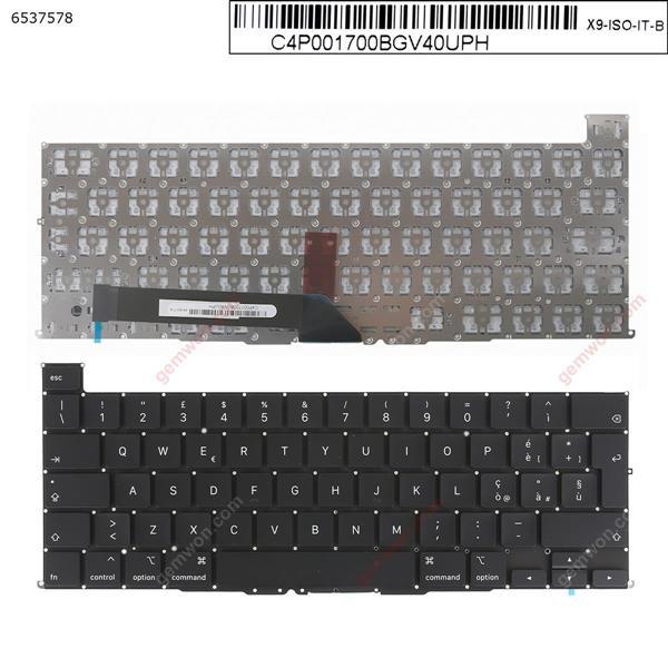 APPLE Macbook Pro A2141 BLACK(without Backlit) IT N/A Laptop Keyboard (OEM-A)