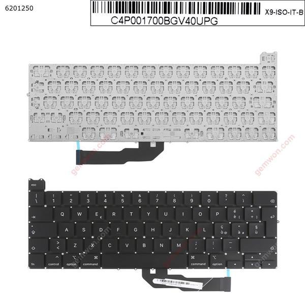APPLE Macbook Pro A2251 BLACK(without Backlit) IT N/A Laptop Keyboard (OEM-A)