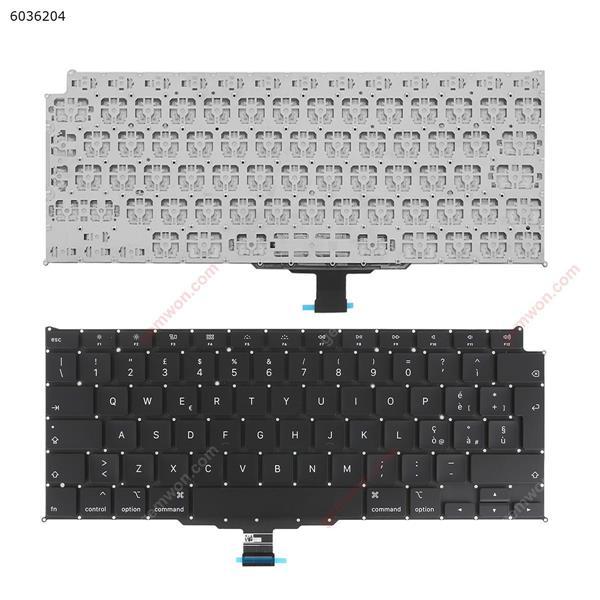 APPLE Macbook Pro A2179 BLACK(without Backlit) IT N/A Laptop Keyboard (OEM-A)