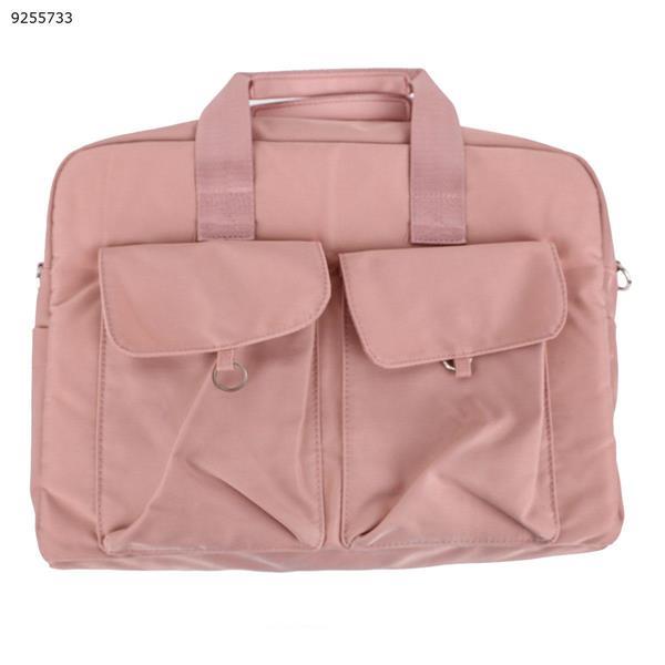 Laptop bag briefcase notebook liner bag Apple macbook Huawei     Pink       DJ09