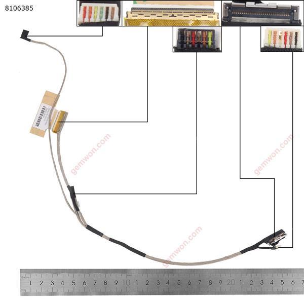 HP Pavilion 10-e 10-E000 010nr 011sa  DD0Y02LC010 LCD/LED Cable DD0Y02LC010