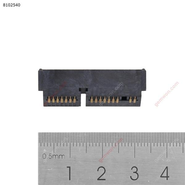 HP Elitebook 2540P SATA Hard Disk Drive Interposer Connector For 1.8