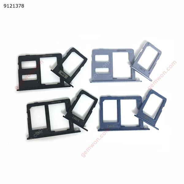 10PCS Sim Card Slot Tray Holder For Samsung Galaxy J4 2018 J400F 5.5 inch Dual Single Sim Card Adapter Parts