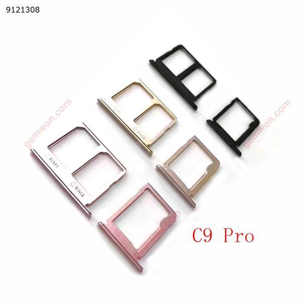 Sim Card Tray Holder Socket SD Slot For Samsung Galaxy C9 Pro Repalcement Part 1Set