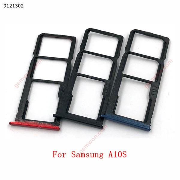 Sim Card Tray SD Reader Holder For Samsung Galaxy A10S A107 A20S A207 A30S A307 A50S A507 SIM Card Tray Slot Holder