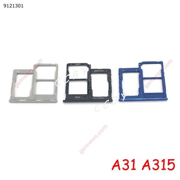 For Samsung Galaxy A31 A315F 2020 Sim Card Reader Holder Dual Sim Card Tray Holder Slot Adapter
