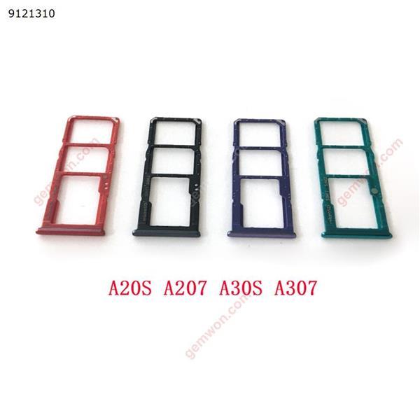 20pcs Sim Card Tray SD Reader Holder For Samsung Galaxy A10S A107 A20S A207 A30S A307 A50S A507 SIM Card Tray Slot Holder