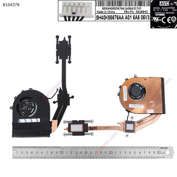LENOVO ThinkPad T560( Discrete graphics card,Heatsink) Laptop Fan 00JT268    BAZA0707R5H   00UR843