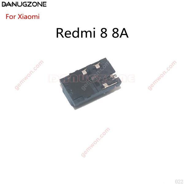 10 unids/lote para Xiaomi Redmi 8 8A Audio auriculares Jack auricular conector de conexión All
