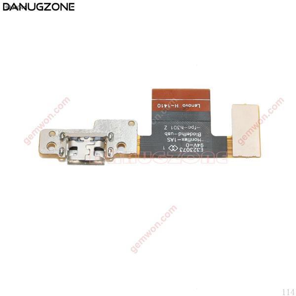Conector de clavija de puerto de carga USB, Cable flexible para Lenovo Tablet Pad Yoga 10 B8080 All