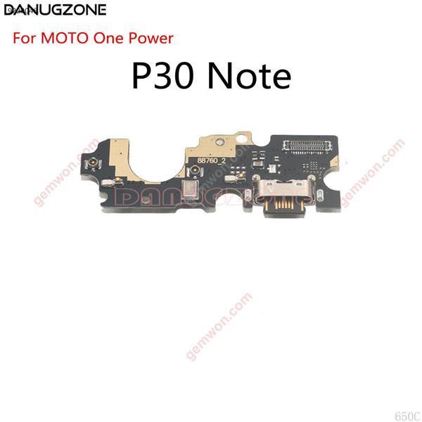 Puerto de carga USB Dock clavija para caja de enchufe conector de carga de Cable Flex para Motorola MOTO un poder P30 nota XT1942-1 All
