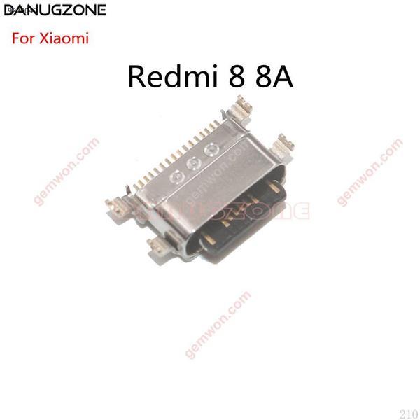 10 unids/lote para Xiaomi Redmi 8 8A, base de carga USB, puerto de carga, Conector de clavija All