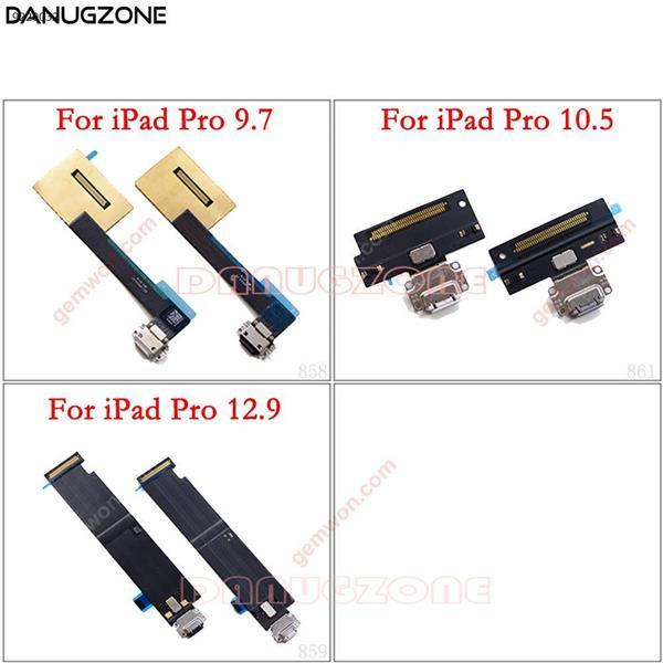 Conector de puerto de carga USB carga enchufe de muelle Jack Plug Flex Cable para iPad Pro 12,9 pulgadas A1584 A1652/9,7 pulgadas/10,5 pulgadas All