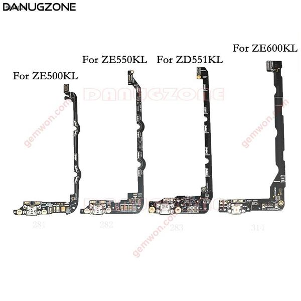Puerto de carga USB Dock conector Jack conector de carga de Flex Cable para ASUS Zenfone 2 ZE500KL ZE550KL ZD551KL ZE600KL All