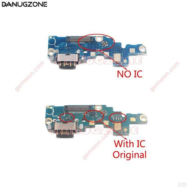 Original para Nokia X6/6,1 Plus 2018 TA-1083/1099/1103/1116/muelle de carga USB puerto hembra Jack conector de carga de Cable Flex All