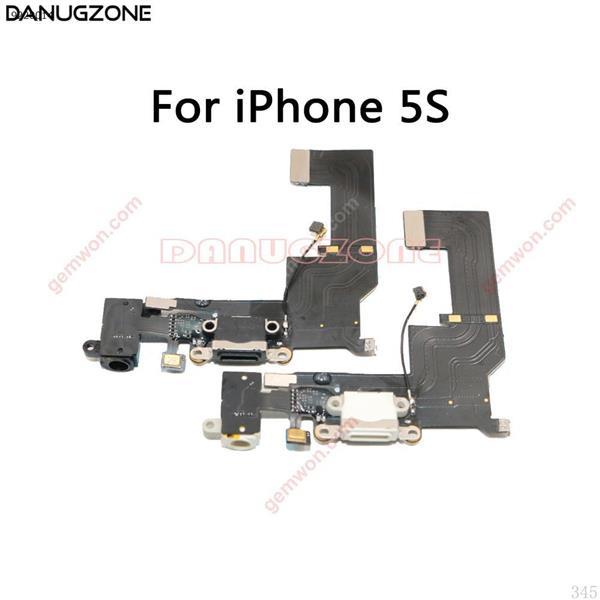 Cable flexible del enchufe del puerto de carga del conector de estación de carga USB para el iPhone 5S 5 5SE 5C All