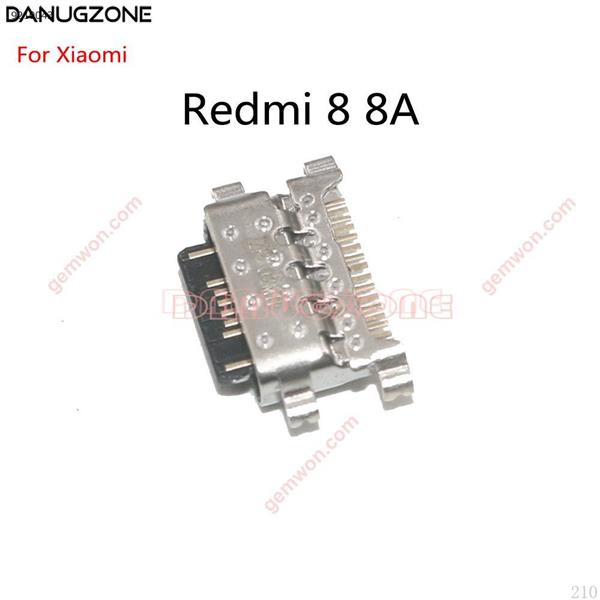 2 unids/lote para Xiaomi Redmi 8 8A puerto de carga USB conector de clavija All