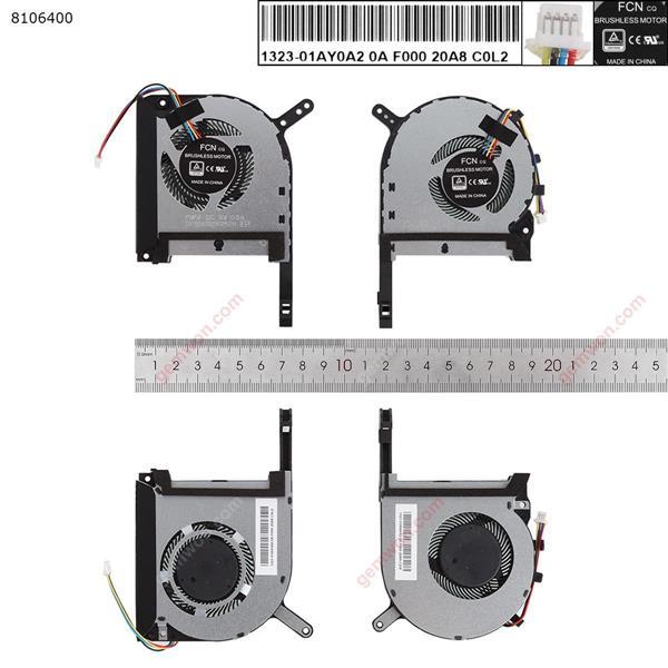 ASUS FX86 FX95G FX705G FX505(CPU+GPU,Original)  Laptop Fan N/A