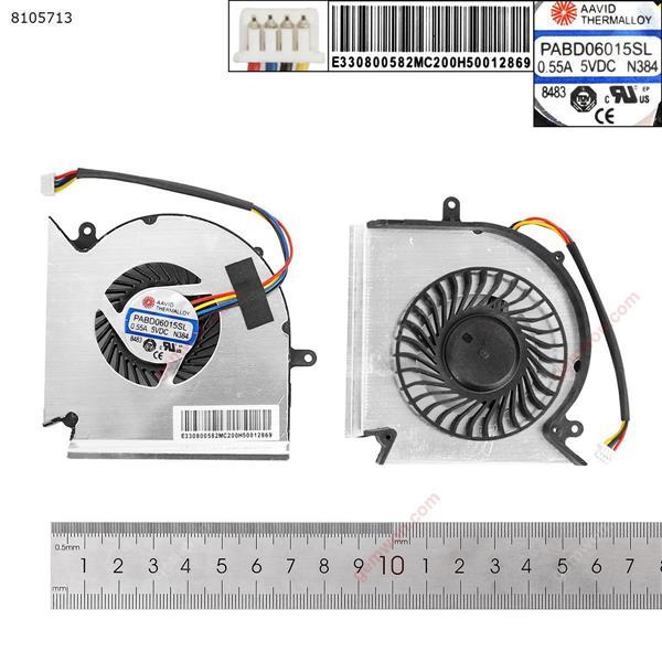 MSI GE63VR MS-16P1 GE73VR MS-17C1(For GPU Fan,OEM) Laptop Fan N/A