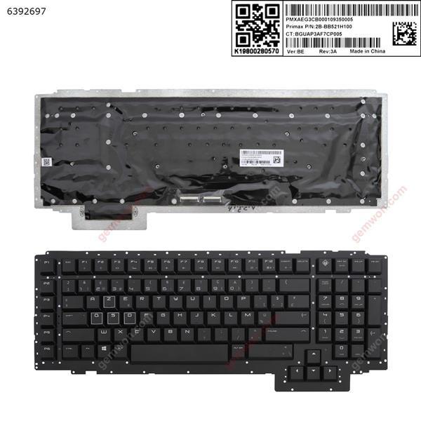 HP 17-AP  BLACK (Without FRAME ) BE 2B-BB521H100 BGUAP3AF7CP005 Laptop Keyboard (A+)