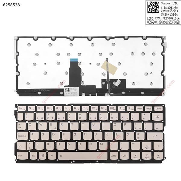 LENOVO IdeaPad Air12 Air 12 YOGA 900S-12ISK Golden (Backlit,Without FRAME,Win8)  PO IDEPK131041B14 Laptop Keyboard