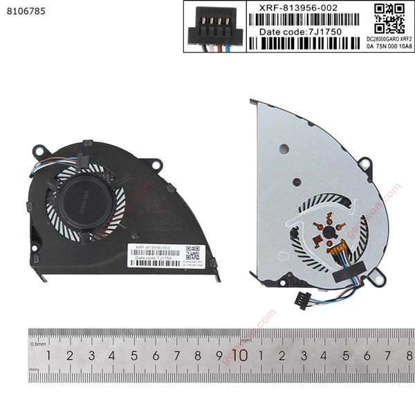 HP Pavilion 14-ce1004tx/1005tx/1006tx For Integrated graphics (High Copy) Laptop Fan N/A