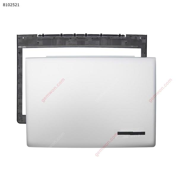 LCD Cover + B Cover For  Lenovo S41-70 S41 S41-75 S41-35 300S-14 I2000 silver Cover N/A