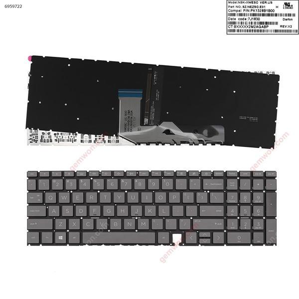 HP Envy 17-cg 17-cgxxx,15 - ED 15-edxxx BLACK (Backlit ,win8 ) US XWOBC US BOO 4H+NHBOM.OOA 6K+NHBTM.OOA Laptop Keyboard (OEM-A)