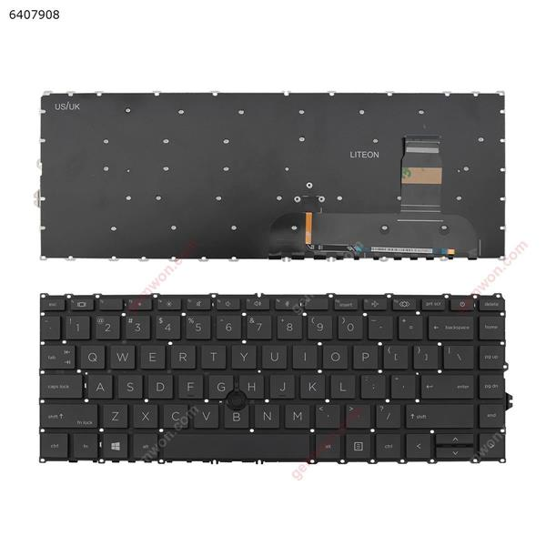 HP EliteBook 840 g7 BLACK (   Without FRAME, with point , Win8) US 6037B0161801 SG-A2130 Laptop Keyboard (OEM-A)