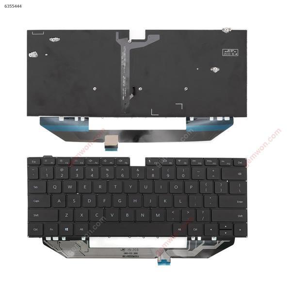 HUAWEI   MACH  W19   W29 BLACK   (Without FRAME,Win8) ) US n/a Laptop Keyboard (A+)