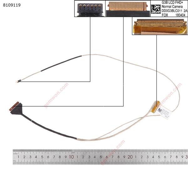 HP 17-AN 15-ce  TPN-Q195 40pin  LCD/LED Cable DD0G3BLC011