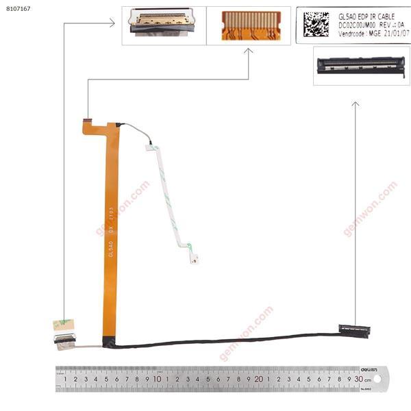 Lenovo Thinkpad L15 GL5A0 IR  LCD/LED Cable DC02C00JM00