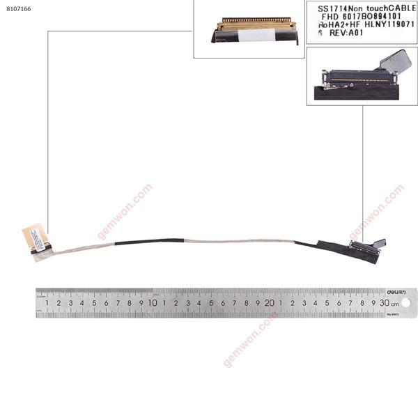 HP 740 G5 745 G5 840 845 g5 FHD 30pin LCD/LED Cable 6017B0894101