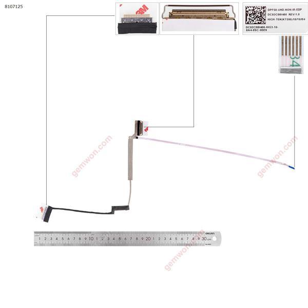 HP 15-CX TPN-C133 4K LCD/LED Cable DC02C00I400