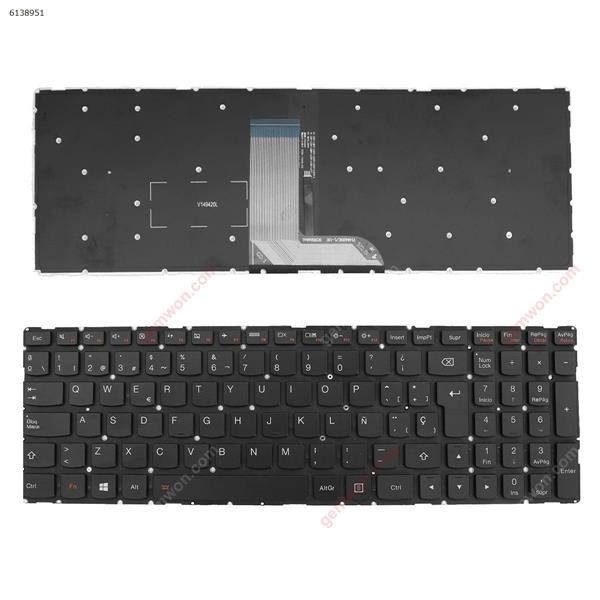 Lenovo YOGA  700-15  GRAY  (Without frame ,without point stick,With  Backlit ) win8  SP n/a Laptop Keyboard (OEM-A)